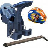 Scaun de bicicleta SafeFront Deluxe si Casca Protectie Mickey WeeRide WR10DMK B3302828