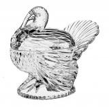 Cumpara ieftin Bomboniera cristal model curcan 18 cm Cod Produs 2270