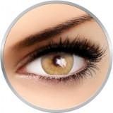 Flash Venicol Amber Yellow - lentile de contact colorate galbene 90 de purtari (2 lentile/cutie)