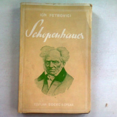 SCHOPENHAUER - ION PETROVICI