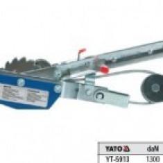 Troliu cu cablu orizontal 1.3 tone, Yato YT-5913