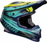 Casca Atv/Cross Thor Sector Warp albastru/verde S Cod Produs: MX_NEW 01106051PE