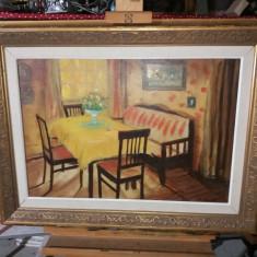 Tablou ulei pe panza  - Sufragerie, Scene gen, Realism