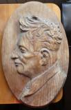 Sculptura in lemn de Ioan Sarghie din Bucovina , Sadoveanu , 1935