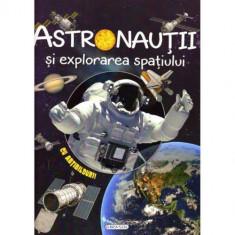 Carte cu Abtibilduri Cosmos: Astronautii si Explorarea Spatiului