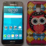 Vand Samsung Galaxy S5 Mini Gold 16Gb G800F Codat Orange Pret 235 Lei, Auriu, Single SIM