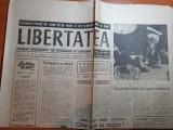 Ziarul libertatea 1 august 1990-art dan spataru,gina patrichi