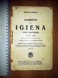 Cumpara ieftin CARTE - VECHE/ MANUAL ELEMENTE DE  IGIENA