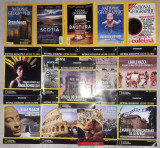 lot 15 reviste si brosuri National Geographic,DeAgostini,sau 10 lei/bucata