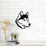 Decoratiune pentru perete, Ocean, metal 100 procente, 50 x 50 cm, 874OCN1041, Negru