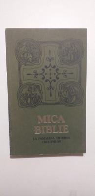 MICA BIBLIE CU ICOANE LA INDEMANA TUTUROR CRESTINILOR foto