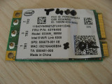 Placa wireless laptop Lenovo ThinkPad T400, Intel WiFi 5300, 43Y6495, 506679-001