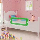 Balustradă de pat protecție copii, 2 buc., verde, 102 x 42 cm, vidaXL