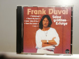 Frank Duval - Best of (1989/Karussel/Germany) - CD ORIGINAL/Stare: ca Nou