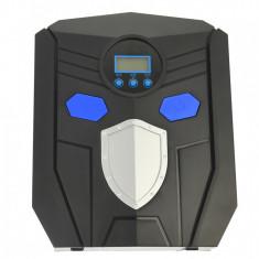 Compresor auto, cu afisaj digital, alimentare 12V, pentru masini, biciclete, motociclete - 68195