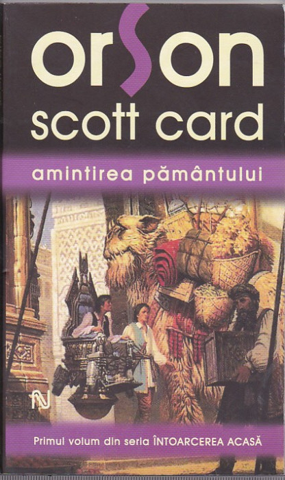 bnk ant Orson Scott Card - Amintirea Pamantului ( SF )