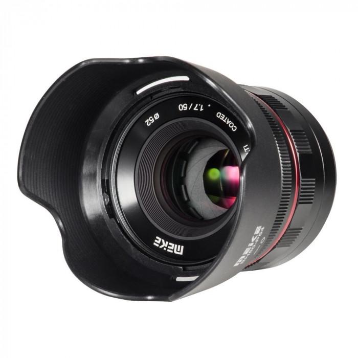 Obiectiv manual Meike 50mm F1.7 pentru Fujifilm FX-mount
