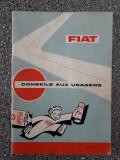 FIAT - Manual de utilizare  1966/ C50P, Alta editura