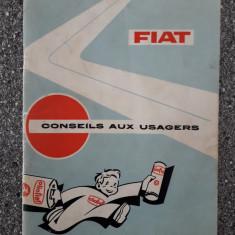 FIAT - Manual de utilizare  1966/ C50P