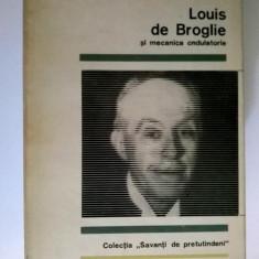 M. A. Tonnelat - Louis de Broglie si medicina ondulatorie