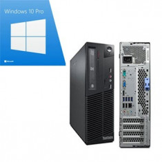 PC Refurbished Lenovo M91p sff, Quad Core i5-2400, Win 10 Pro, Ibm