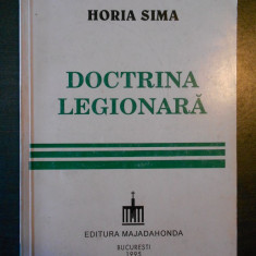 HORIA SIMA - DOCTRINA LEGIONARA