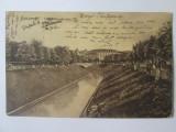 Cumpara ieftin Carte poștală București-Cheiul Dâmboviței circulată 1925, Bucuresti, Circulata, Printata