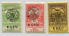 1919 , ROMANIA ,  Lot Em. CLUJ , INUNDATIA , semnate BODOR  - nestampilate foto