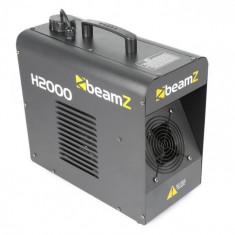 Beamz H2000 Fazer, negru, mașină de fum, 1700 W, DMX, operare de sine stătătoare