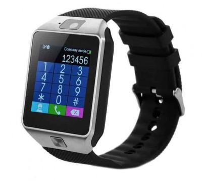 Ceas inteligent DZ09 - Touch si MicroSim foto