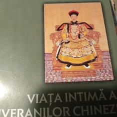 VIATA INTIMĂ A SUVERANILOR CHINEZI - YUAN UTAZUB, NEMIRA 2003,431 PAG