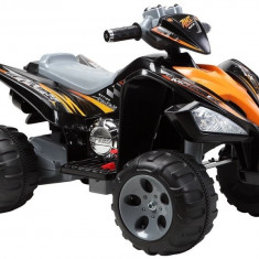 Quad Sport electric Malipen, negru