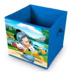 Cutie pliabila textila pentru depozitare Mickey Mouse