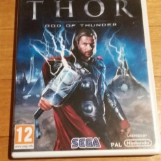 WII Thor God of thunder original PAL / by Wadder, Actiune, 12+, Single player, Sega