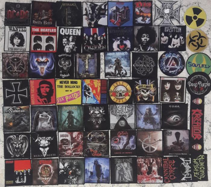 Patch Metallica,Rammstein,Slayer,Nirvana,Disturbed,Guns n Roses,Maiden,AC/DC