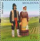 MOLDOVA 2017, Costume populare - Gagauzi, MNH, serie neuzata, Nestampilat