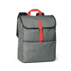 Rucsac Laptop 15.6 inch, Everestus, NB, 600D densitate mare, rosu, saculet de calatorie si eticheta bagaj incluse