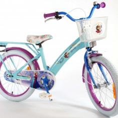 Bicicleta pentru fetite Frozen Volare 18 inch cu roti ajutatoare