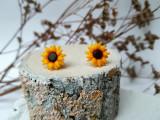 Set floarea-soarelui pe argint