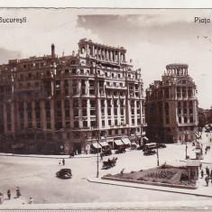bnk cp Bucuresti - Piata Senatului - circulata 1936