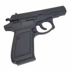 Bricheta pistol tip revolver, arma CZ 83 calibru 7.65mm, negru, marime naturala scara 1 la 1