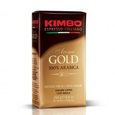 Kimbo Aroma Gold 100% Arabica Cafea Macinata 250g