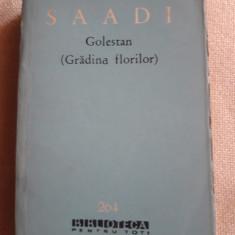 Saadi - Golestan  (Gradina florilor )