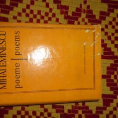 Eminescu - poeme editie bilingva romana - engleza 509pagini