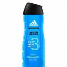 Gel de dus Adidas 3in1 After Sport, 400 g, pentru barbati