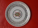Cumpara ieftin Aplică din porțelan reprezentând logoul Universiadei din București din 1981