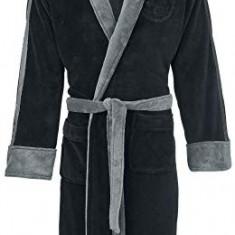 Halat De Baie Darth Vader Embossed Star Wars Black Hoodless Robe