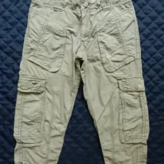 Pantaloni ¾ Tommy Hilfiger Denim; 6 buzunare; Marime S/M, vezi dim.; impecabili