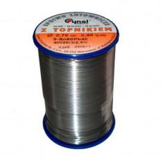 Aliaj pentru lipire circuite electronice Fludor Cynel, 1 mm, 500 g rola, Oem