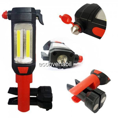 Lampa de Lucru LED+2xCOB LED Multifunctionala 220V BL8829B foto